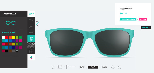 Canvas Eyewear Product 4 - Process