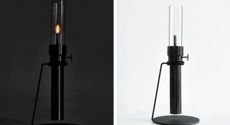 Castor Design's Modern Oil Lamp