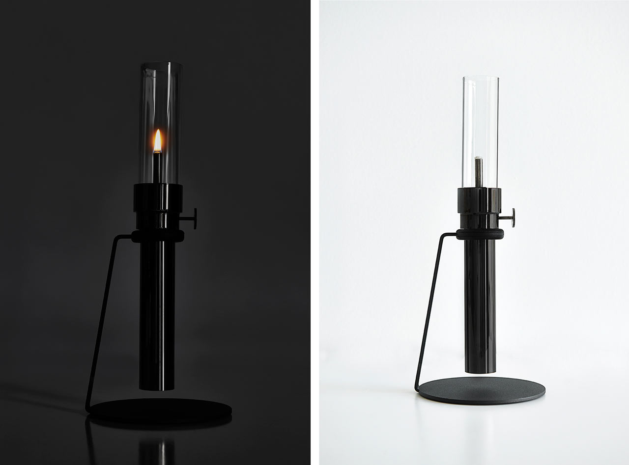 Castor Design's Modern Oil Lamp - Design Milk