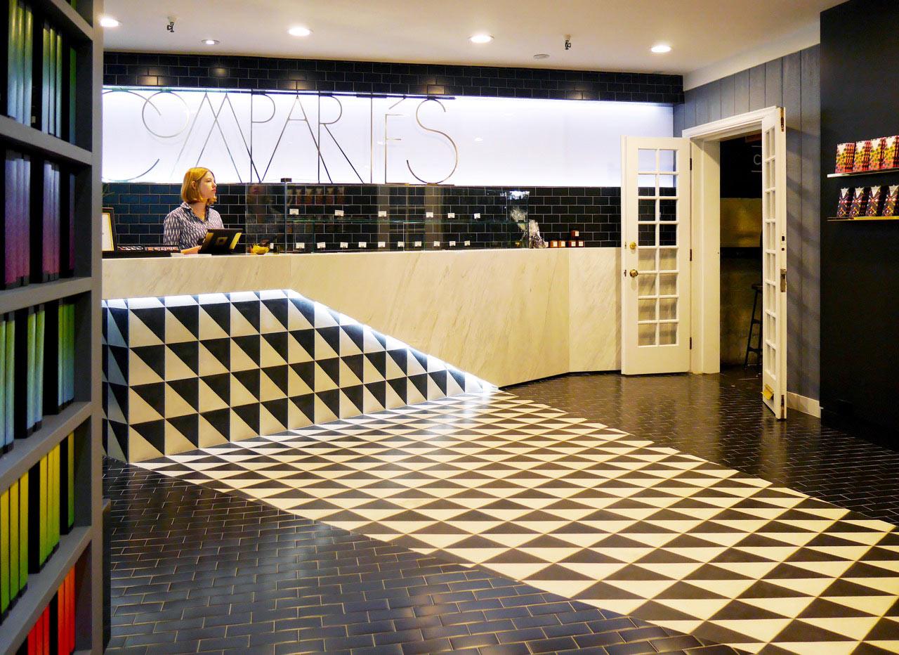 Compartes Melrose A Chocolate Shop In Los Angeles Design Milk