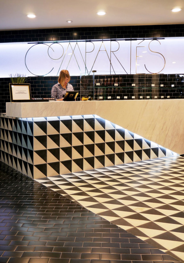 Letting Product Speak For Itself >> Compartes Melrose: A Chocolate Shop in Los Angeles - Design Milk