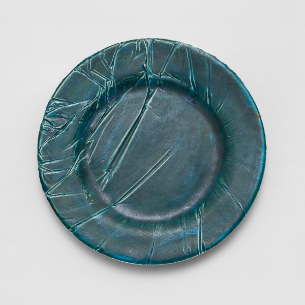 Copper Plate (Dinner Plate) \\\ Handmade ceramics