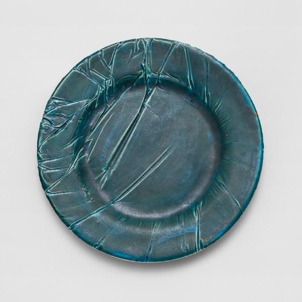 Copper Plate (Dinner Plate) \\\ Handmade ceramics