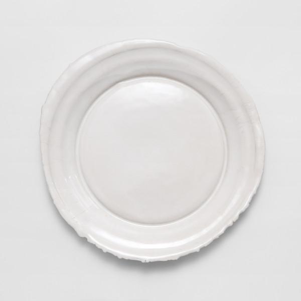 Rough Edge Plate (Dinner Plate) \\\ Handmade ceramics