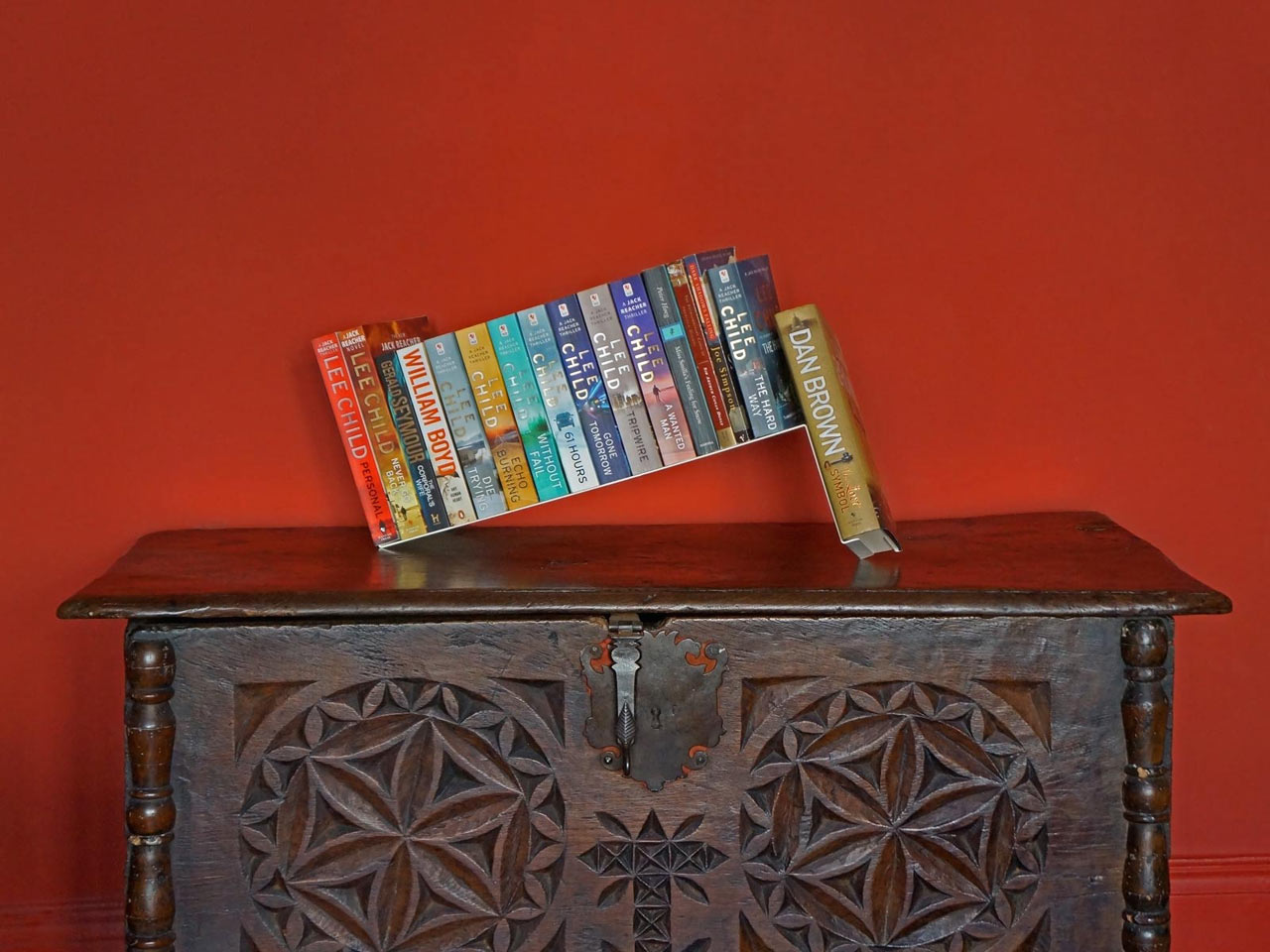 Turn Your Books into a Sculptural Feature