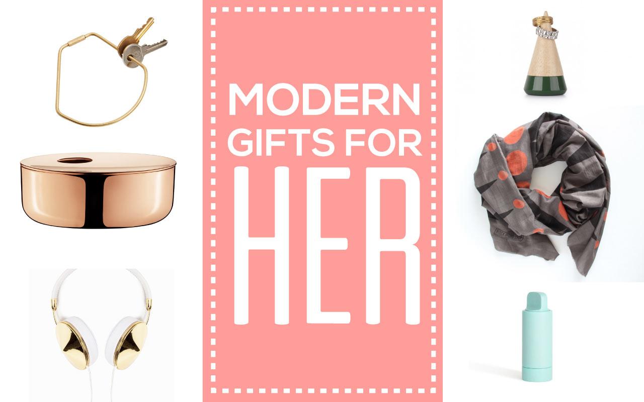 modern holiday gift ideas for women design milk -  gift guide her