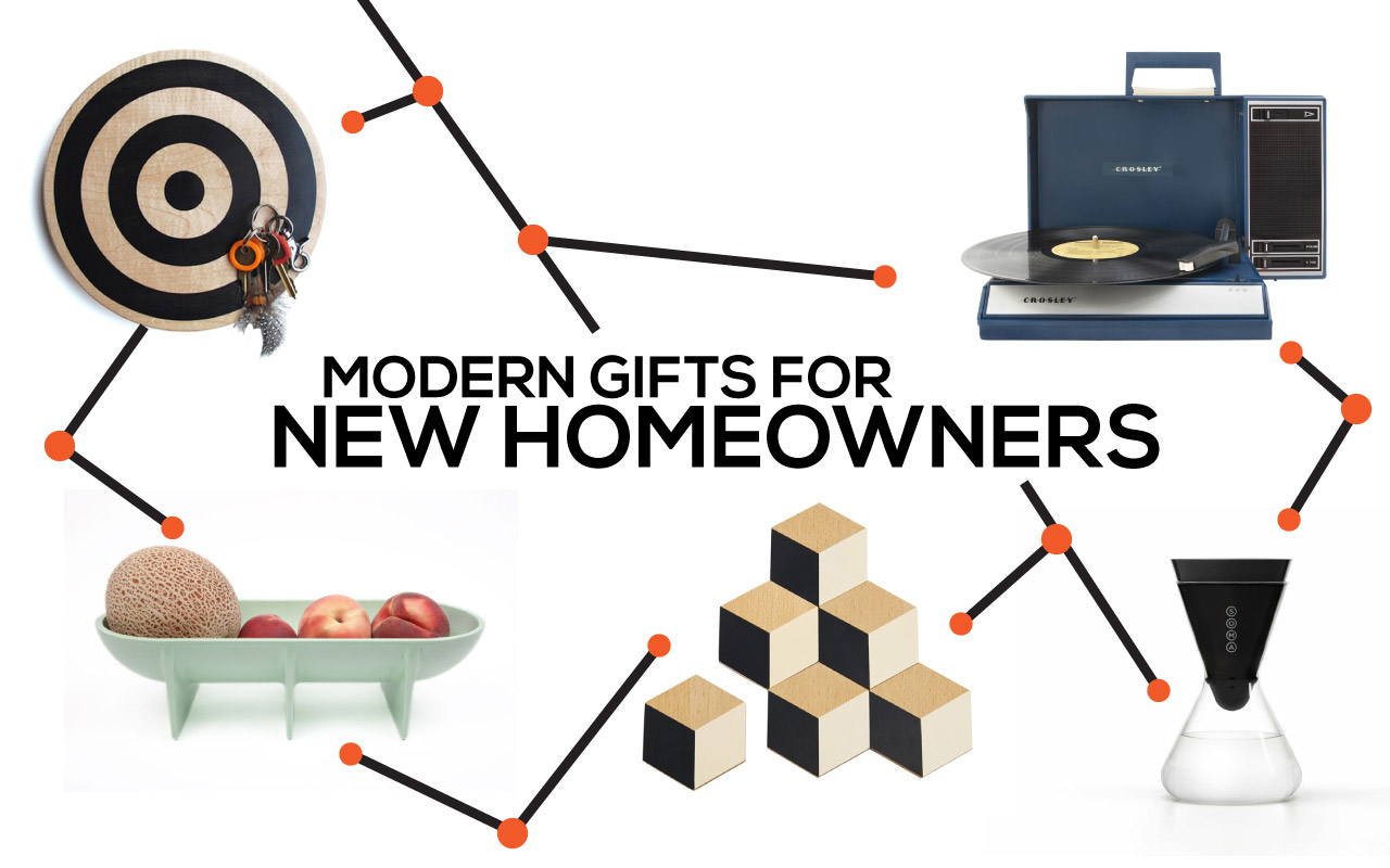 Modern Gift Ideas for A New Home Owner - Design Milk