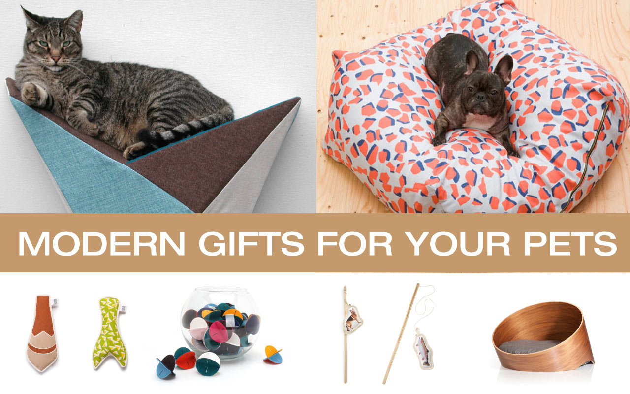 great holiday gifts for the modern dog and cat  design milk -  gift guide pets