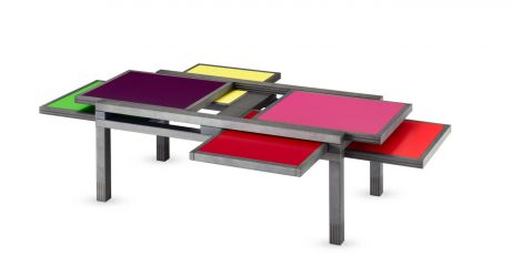 Hexa: An Adjustable Table Designed Like a Puzzle