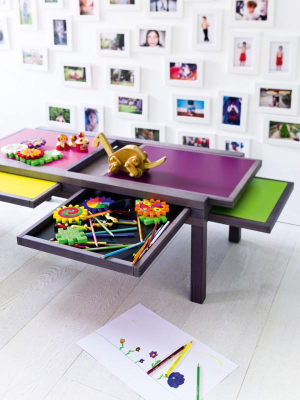Hexa An Adjustable Table Designed Like A Puzzle Design Milk