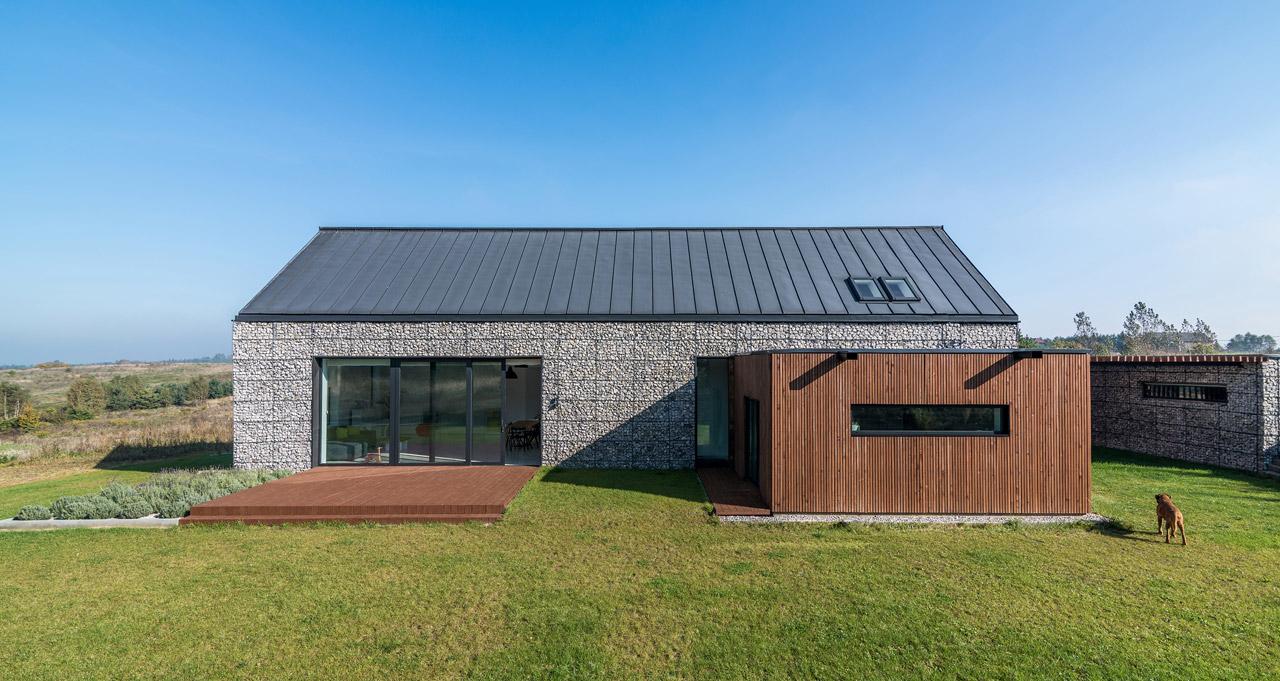 House in the Landscape by Kropka Studio - Design Milk