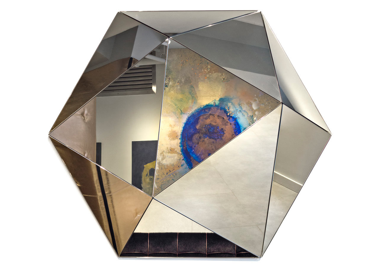Three-Dimensional, Faceted Mirrors by Joe Doucet for Dune