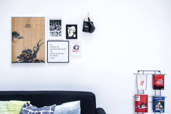 a modern thai boxing gym by spray architecture design milk. Black Bedroom Furniture Sets. Home Design Ideas