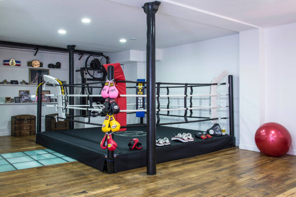 A Modern Thai Boxing Gym by Spray Architecture - Design Milk on home martial arts gym, home made gym, home mma gym, home gym complete sets, home wrestling gym, csun gym, home gym decorating ideas, home gymnastics gym, home bouldering gym, home olympic weightlifting gym, modern home gym, local gym, home self defense, home dance gym, home bodybuilding gym, home cheerleading gym, garage home gym, home gym wall, home jiu jitsu, muay thai home gym,