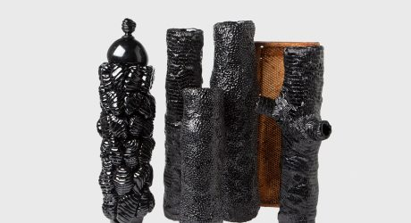 Insect Byproducts Used to Create Sculptural Objects