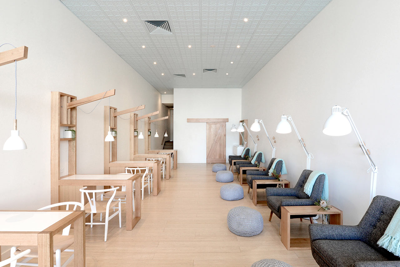 Missy lui a toxic free nail salon in melbourne australia for Salone design