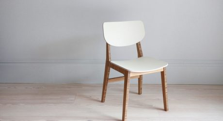 Contemporary Dining Chair Made From Renewable Materials