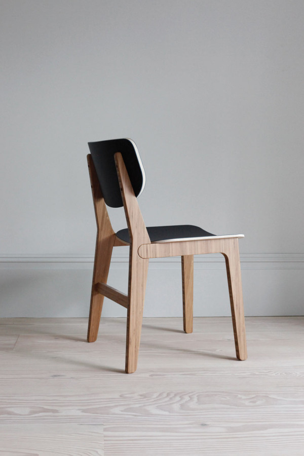 Contemporary Dining Chair Made From Renewable Materials - Design Milk