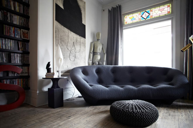 10 Modern Living Rooms with Nap-Worthy Sofas - Design Milk
