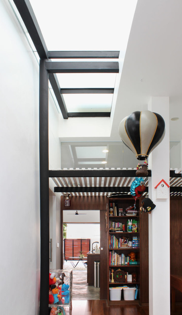 A 60 Year Old Terrace House Gets a Renovation in main interior design architecture  Category