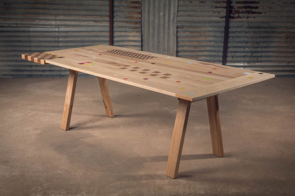 alon dodo wood furniture mixed table