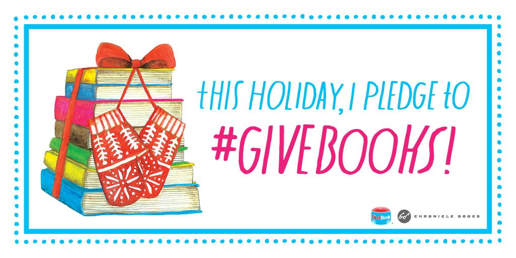 #GIVEBOOKS with Chronicle Books: Give 10 Get 10 Book Giveaway