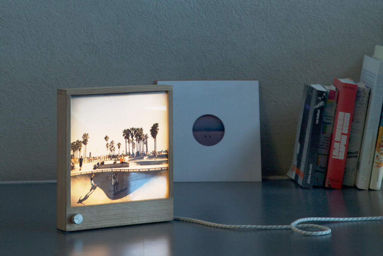 Frameworks: An LED Wooden Picture Frame