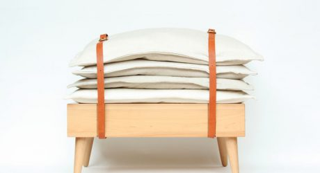 Banquete: A Cushiony Seat That Pulls Double Duty