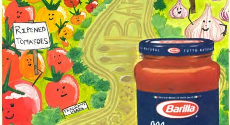 Creative Designs from the Barilla L'arte della Cucina Poster Design Contest