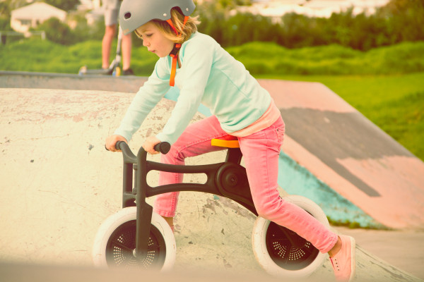 Childrens Bike is Made from 100% Recycled Carpet in style fashion main Category