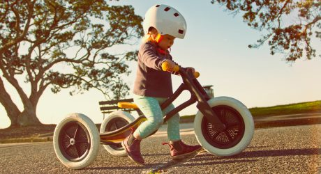 Children's Bike is Made from 100% Recycled Carpet