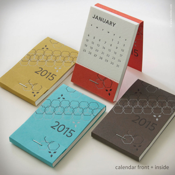Calendar Design Date : Modern calendars for design milk