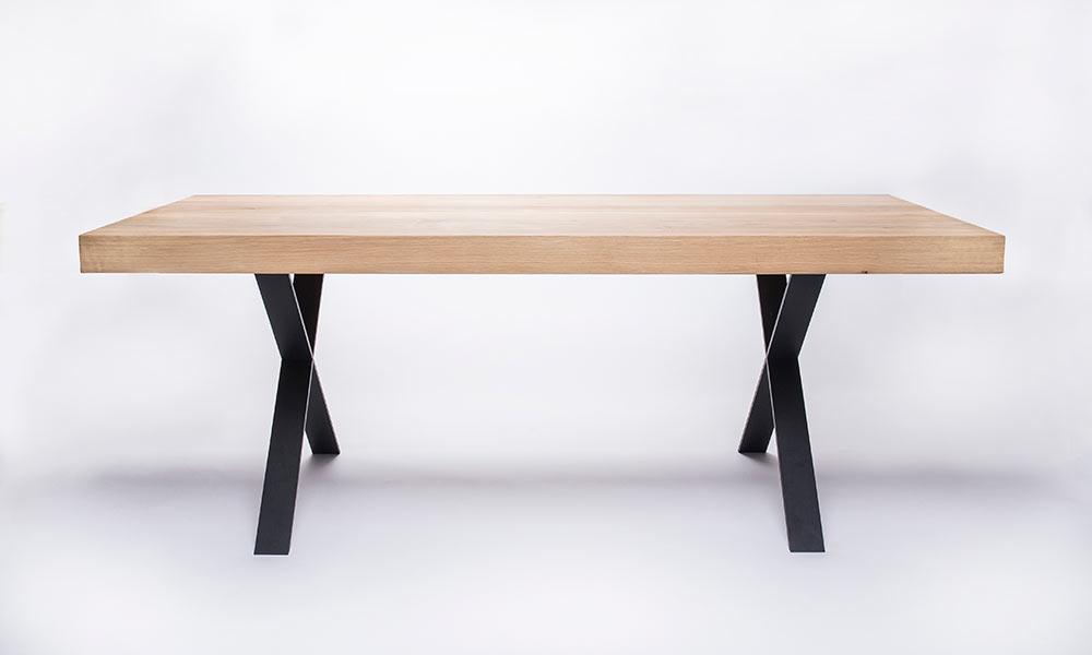 Wood amp Steel Tables By 5mmstudio Design Milk