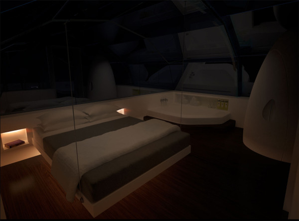 9 Photon Space (bedroom at night)