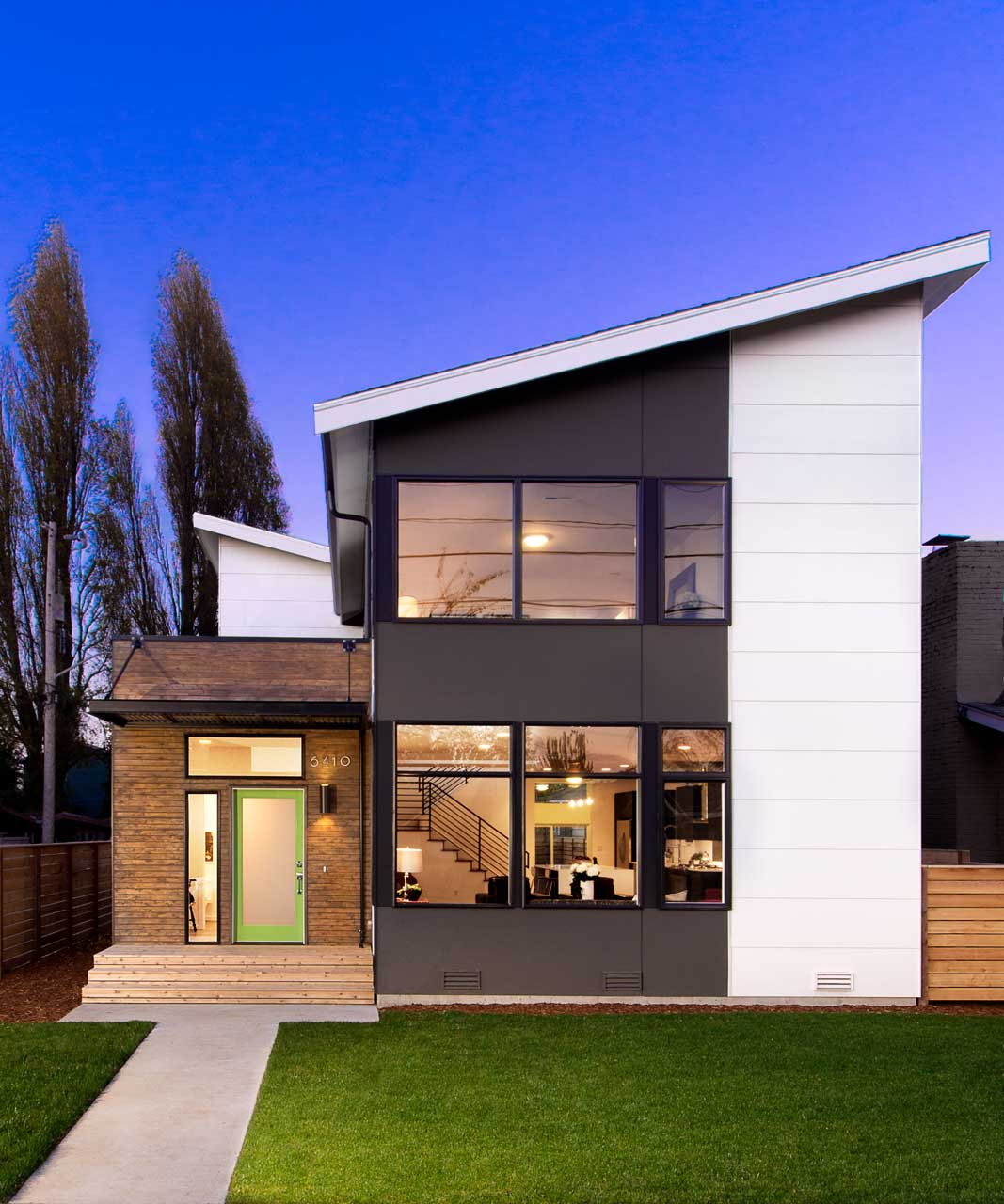 Modern Home Ideas Exterior Design: A Seattle Home Steps Away From The Water