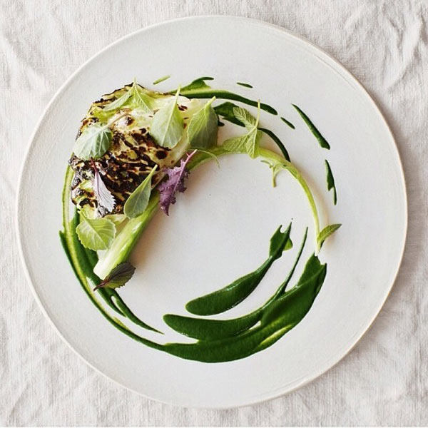 The art of plating where food and design meet design milk for Art et cuisine chaudron line
