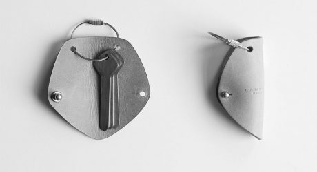 Simple Leather Key Wrap by Campbell Cole