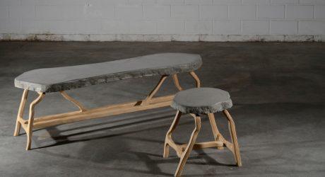 Concrete Pine Series by Robin Berrewaerts