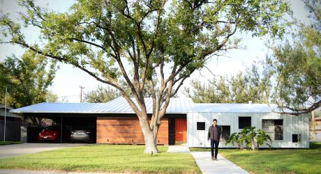 A Modern Renovation of a 1950's House in Texas