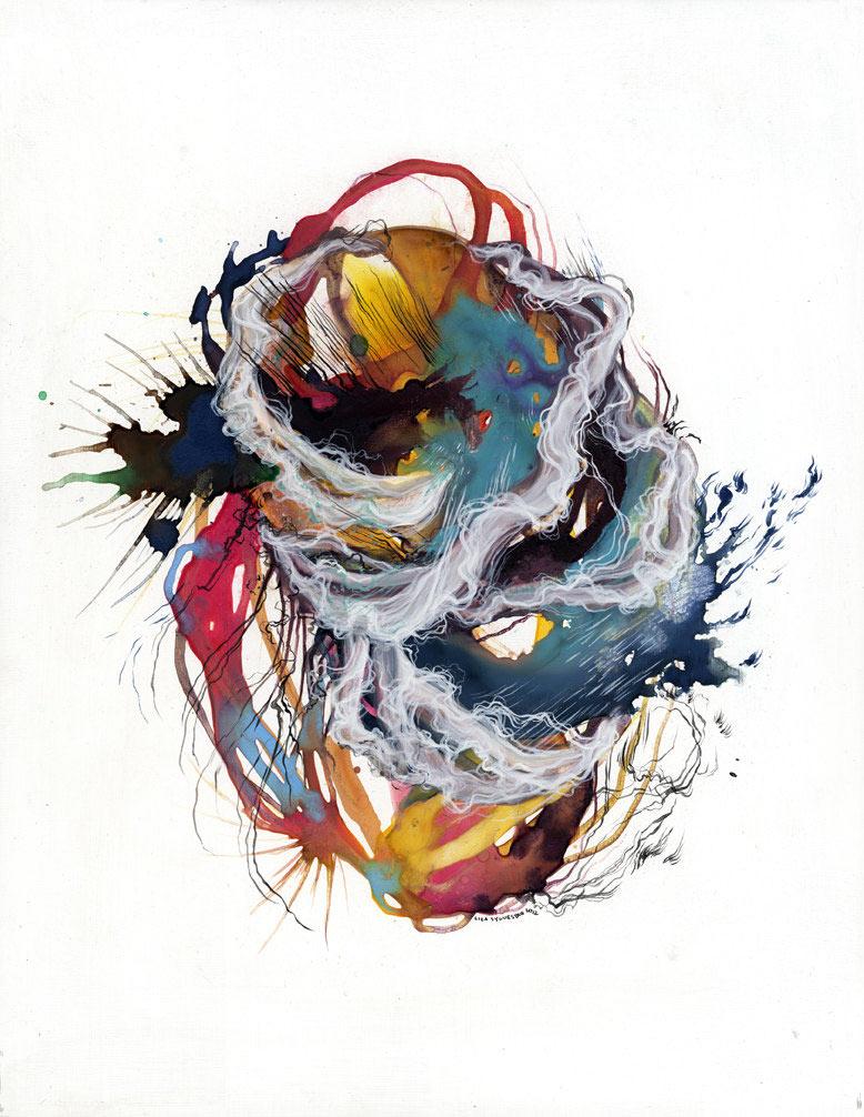 The Intricate Organic Artwork of Liza Sylvestre