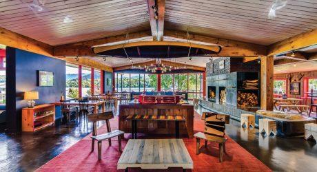 A Modern Retreat in the Adirondacks