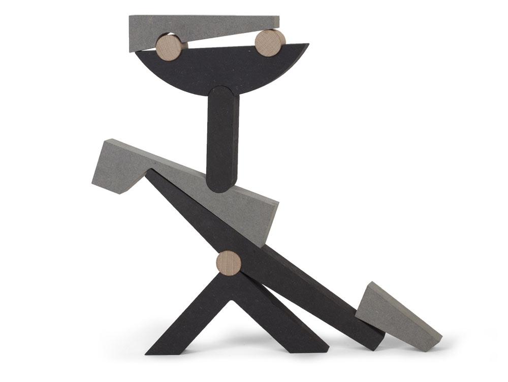 EL BALANCÍN Sculptural Stacking + Balancing Building Blocks