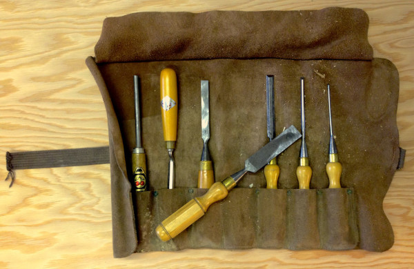 Photo of chisels by Liam