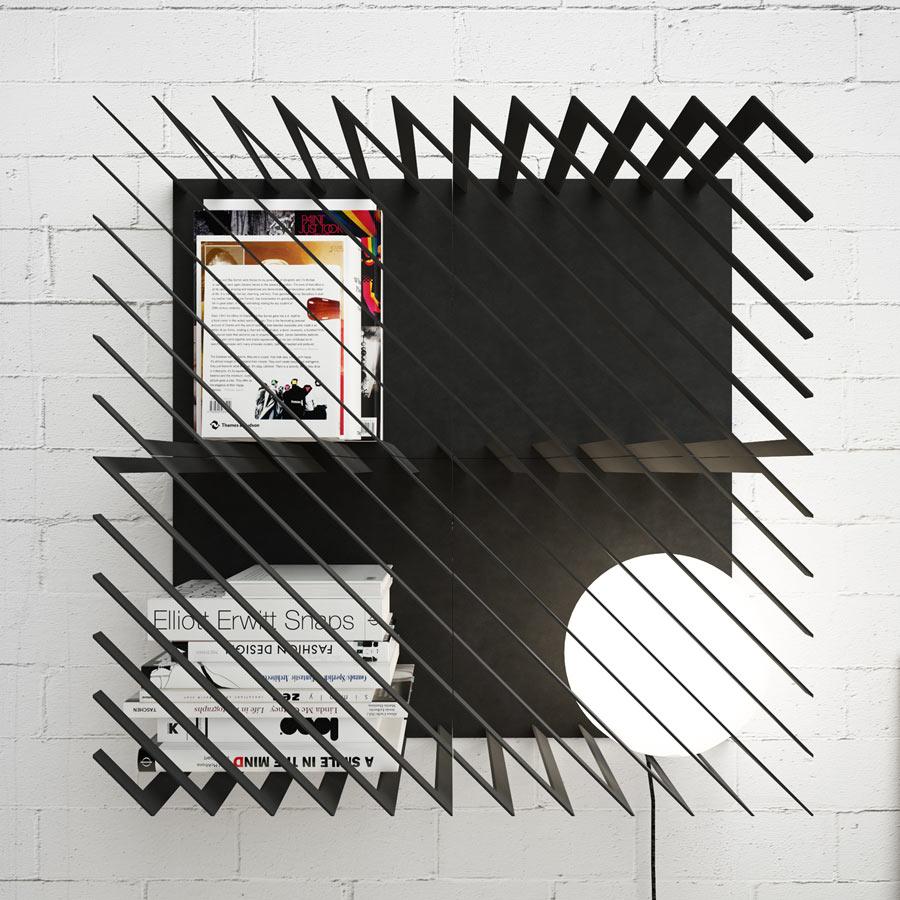 Hash: A Graphic, Modular Bookshelf