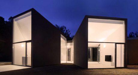 A Sculptural House Designed Around the Landscape