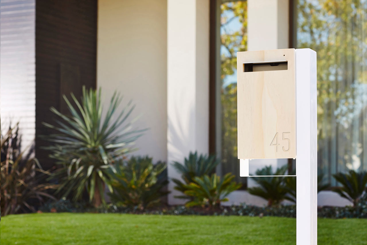 cool residential mailboxes. A Modern Approach To The Mailbox Cool Residential Mailboxes P