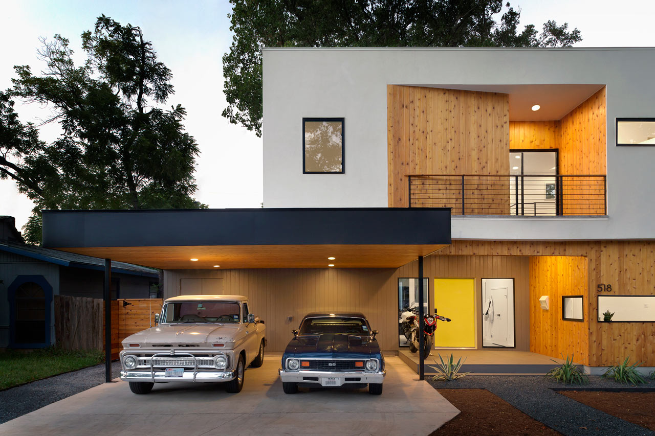 MF Architecture Builds A House Around A Tree ...