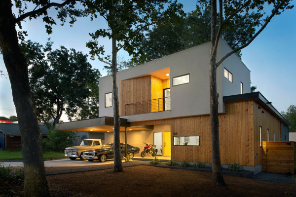 MF Architecture Tree House Residence 2 600x399 MF Architecture Builds A House Around A Tree