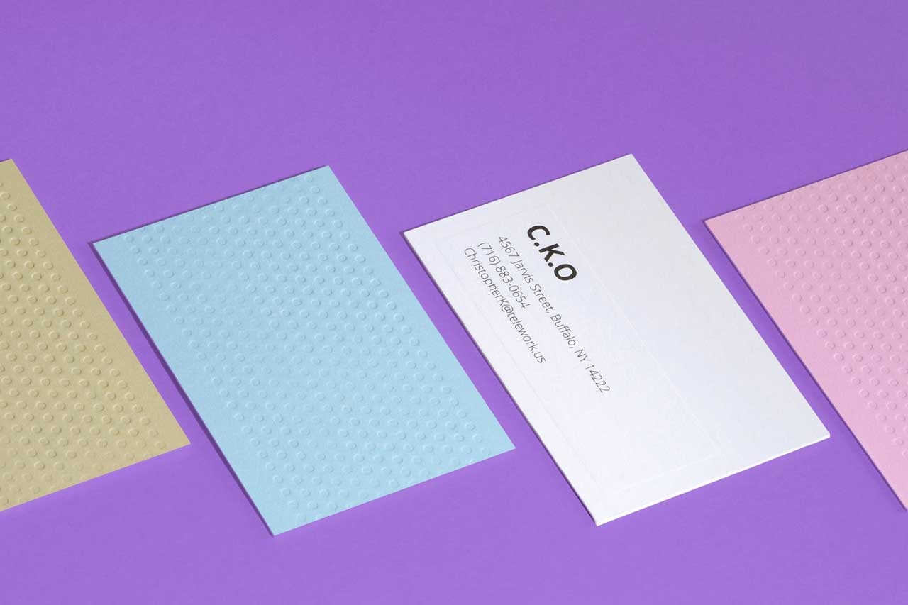 MOO Launches Letterpress Business Cards - Design Milk