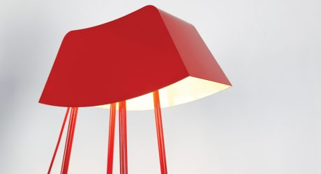Monsieur: A Floor Lamp That Says Hello